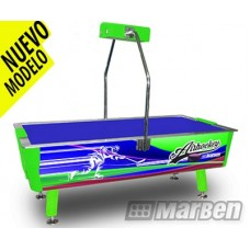 MESA DE AIR-HOCKEY PROFESIONAL EDICION GREEN PLAYER