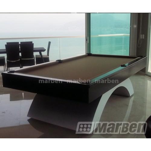 Mesa de billar imperial luxury pata aluminio for Mesas de billar de lujo