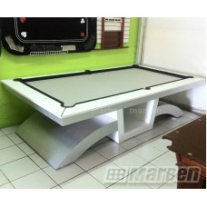 MESA DE BILLAR BLACKDIAMOND BLANCA