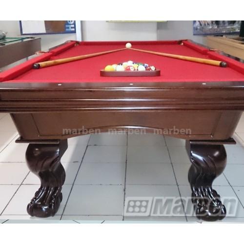 Mesas de billar mesa de billar camila pata de garra for Mesas de billar de lujo