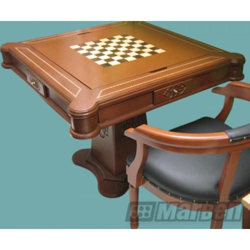 Mesas de juego sal n de juegos casinos residencial o comercial mesa de juego clasica de - Dominion juego de mesa ...